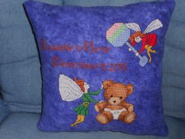 Teddy Bear Fairies - Finished by Joce-in-Stitches