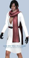 Carla RE6 White Dress by Captain-AlbertWesker