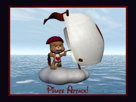 Pirate Attack by Qutey
