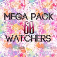 +Mega pack 60 watchers by MicuDeviant
