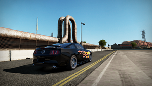 Ford shelby mustang gt500 by RZ-028-Hellblaze