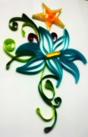 Quilling Flower by Swapneil