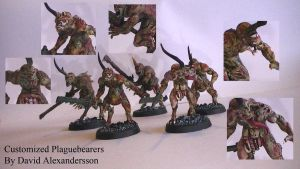 Customized Plaguebearers by Tiwyll