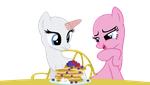 mlp base are you gonna eat that :3 by Cloudilicious