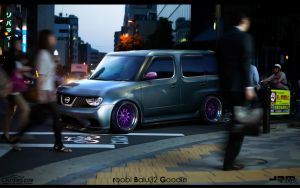 WTB'11 Nissan Cube by roobi