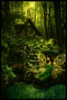 Forest Fae by RebeccaWeaver