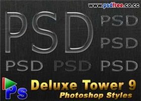 Deluxe Tower 9 by psdfree