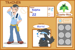 Ecosta-Rica - Trainer -Ralphie by DaMee-Momma