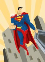 Superman_1 by Andres-Iles