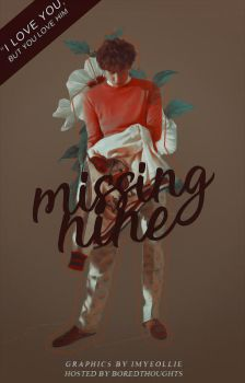 Wattpad Cover: Missing Nine by dustyaria