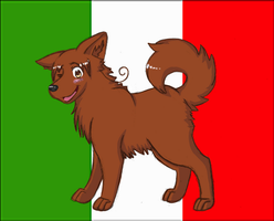 Hetalia Dogs: North Italy by PrinceofSpirits