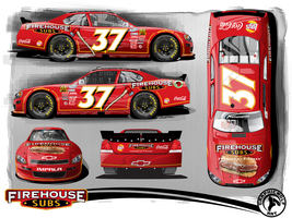 Firehouse Subs Nationwide car by graphicwolf