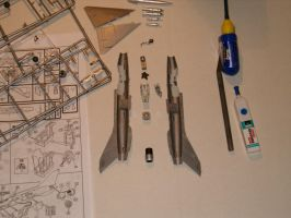 Building a MiG 21 - step 9 by kanyiko