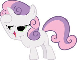 Vector 06} Sweetie Belle [15O] by RosaIine