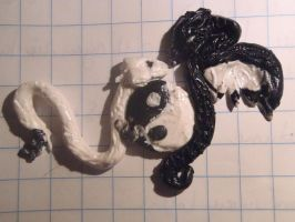 ying and yang polymerclay by so1what1i1am1myself