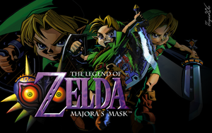 Majora's Mask Wallpaper by Tigui206