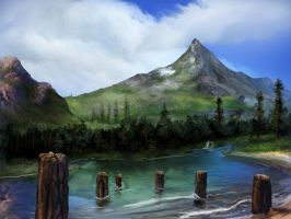 s1e14 - Beauty Is Everywhere, Mountain Ridge Lake by vest