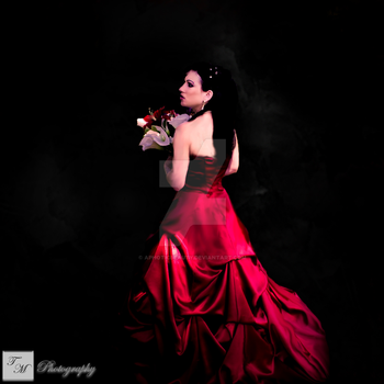 Red Bride by Aphoticbeauty