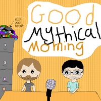 Good Mythical Morning by waterpainter1144