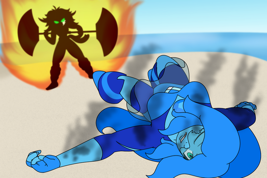 Fire vs Ice by TertonDA