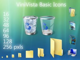 ViniVista Basic Icons by Vinis13