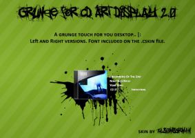 Grunge for CD Art Display by ILB0mb3rm4n