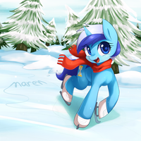 Commission 19 : Ice skate by Marenlicious