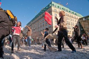 Berlin pillow fight 2011 - 33 by Egg-Salad