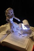 Pandora's Box Book Sculpture by wetcanvas