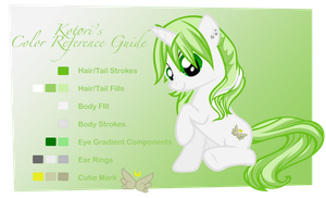 Kotori Color Guide by Rayne-Feather