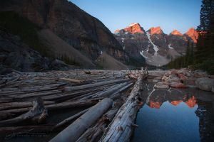 Moraine Sunrise by jaelise