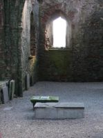 Peel Castle Tomb by Elyssandrel