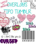 13 transparents/overlays tipo tumblr. by stupidthingslikelove