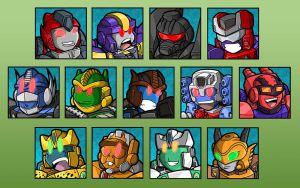 Commission - TF Club Avatars by MattMoylan