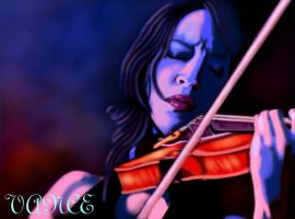 LADY GRINNING SOUL by vancegraphics