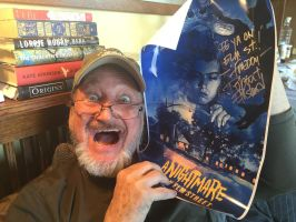 Robert Englund has my poster :3 by MsSlasher