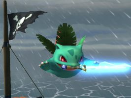 Ivysaur Wants To Be a Jedi by TheTweedleTwins