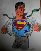 Superman by october84stardust