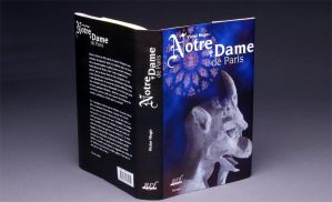 Notre-Dame de Paris Book Cover by bdec