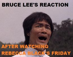 Messin' with Bruce Lee: #2 by RockyToonz93