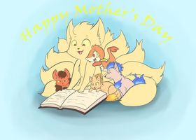 A day for Moms by MasaBear