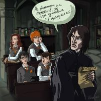 Some of this class. by MadTwinsArt