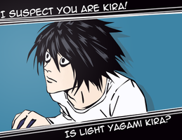 L suspects Kira by MD3-Designs