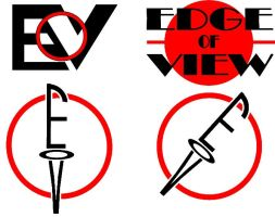 Edge of View Talk Show- Early Logos by LandgraveCustoms