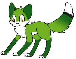 What Does The Green Fox Say by zombites