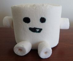 Doctor Who 'Adipose' Marshmallow by JuliaBoon