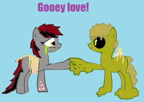 Gooey love :3 by bloostormbrony