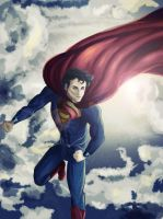 Superman by OneProudMutt