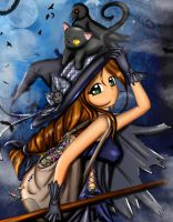 cute Witch by maviboncuk