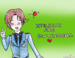 Italians Are Contagious by AshAngel899